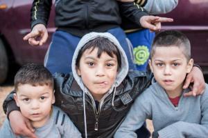 Enfants Roms - © Jean Fabien
