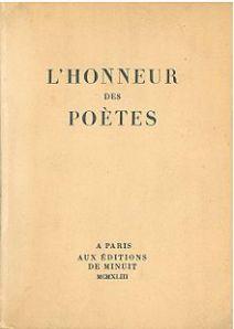 l'honneur des poètes